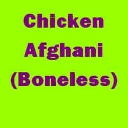 Chicken Afghani Boneless