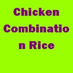 Chicken Combination Rice