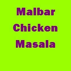 Malbar Chicken Masala