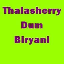 Thalasherry Dum Biryani